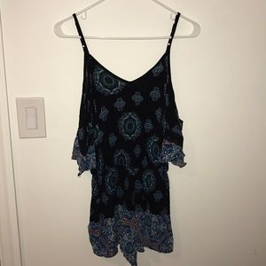 Mossimo Patterned Romper